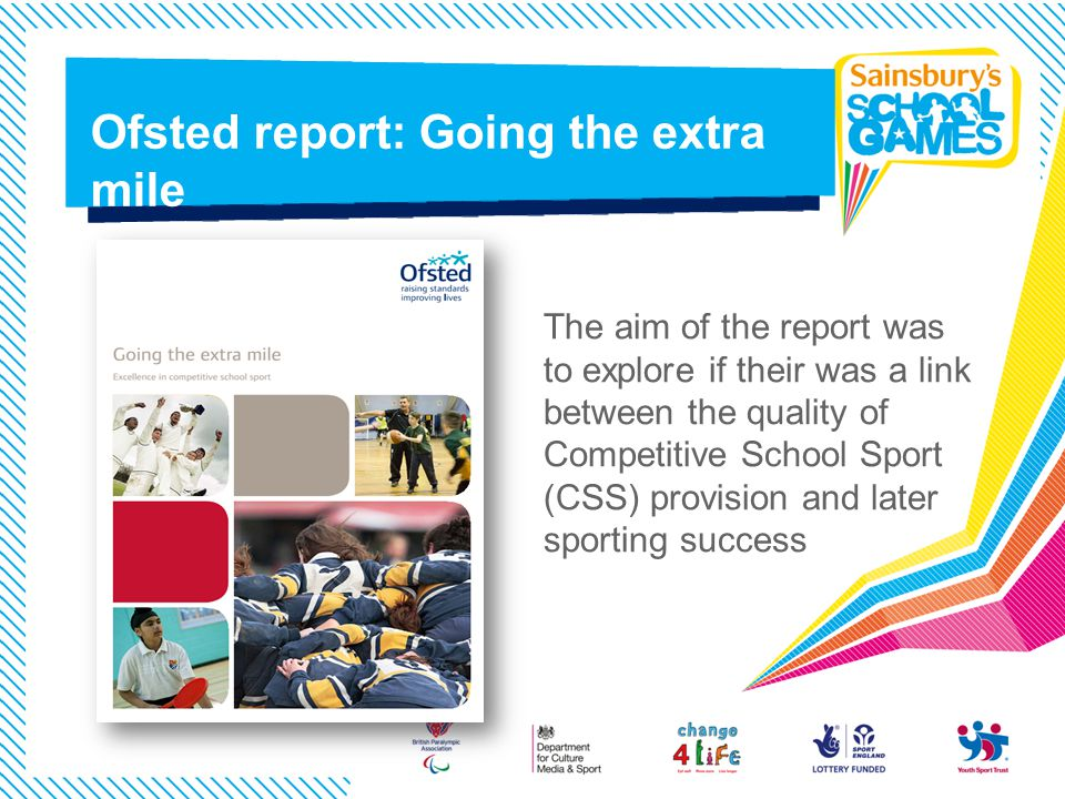 Ofsted report: Going the extra mile
