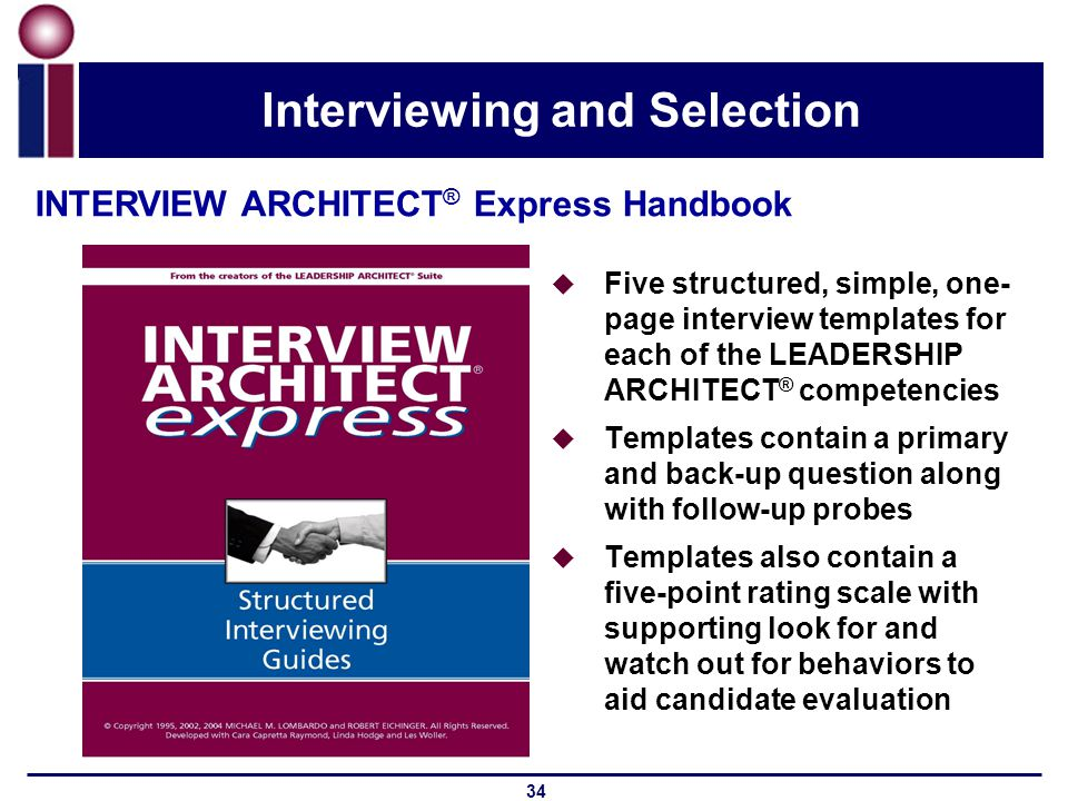 The LEADERSHIP ARCHITECT Suite Ppt Video Online Download