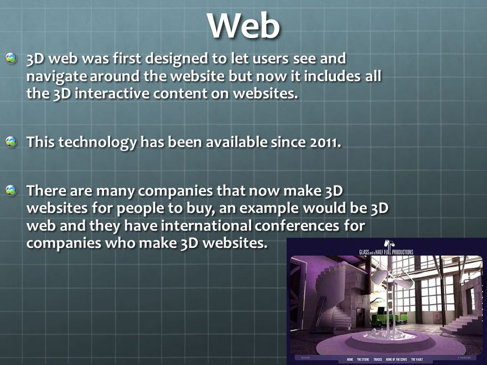 How 3D is used in society  - ppt video online download