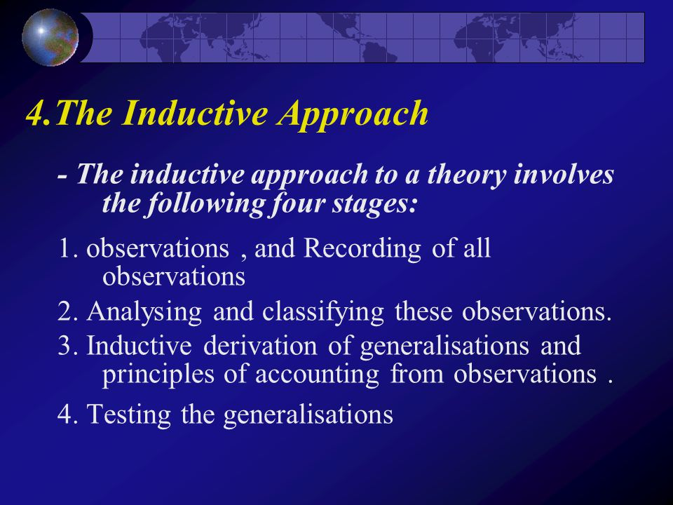 deductive approach in accounting theory