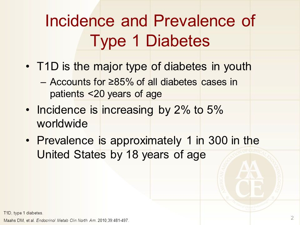 Incidence and Prevalence of Type 1 Diabetes