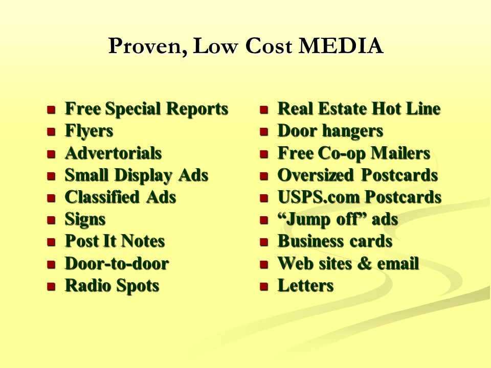 Million Dollar Direct Mail Systems for Buying Houses - ppt video