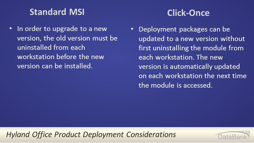 OnBase Module Deployment - ppt video online download