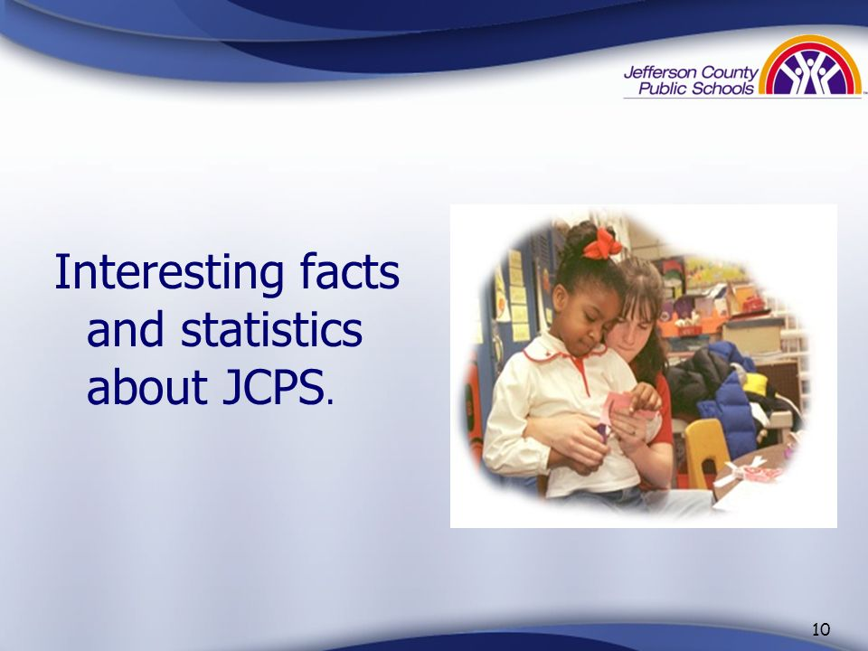 Interesting facts and statistics about JCPS.