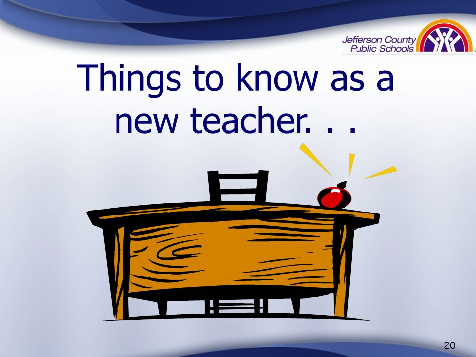 Things to know as a new teacher. . .