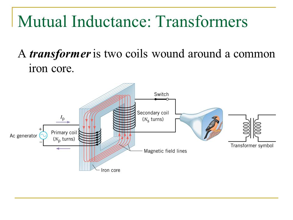 Mutual Inductance: Transformers