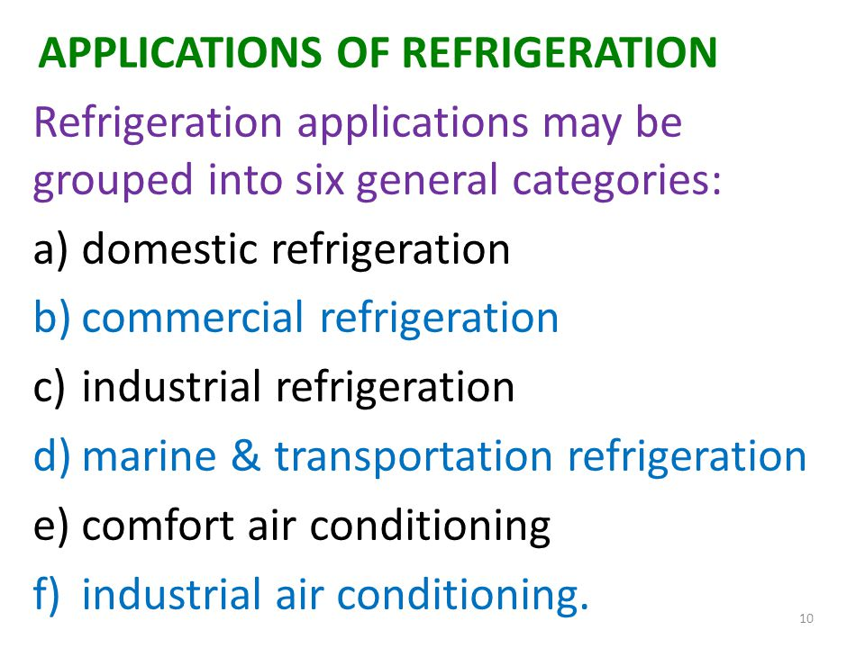 Refrigeration And Air Conditioning I 3 Units Ppt Download