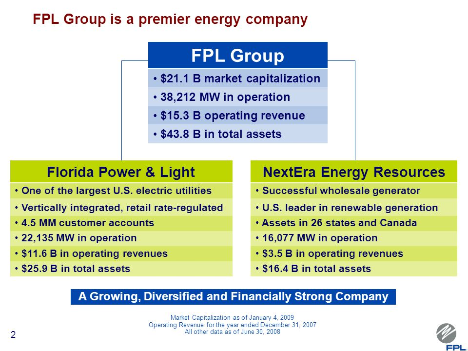 Captivating FPL Group FPL Group Is A Premier Energy Company Florida Power U0026 Light Nice Design