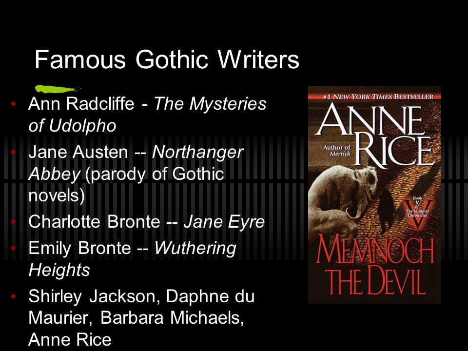 Characteristics Of Gothic Literature Ppt Video Online Download