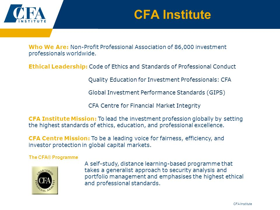 how to become a cfa candidate