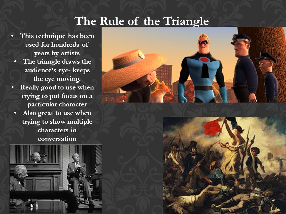 The Rule of the Triangle