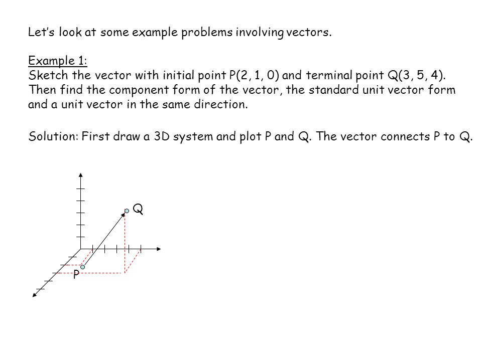 Chapter 7 Vectors And The Geometry Of Space Ppt Video Online Download