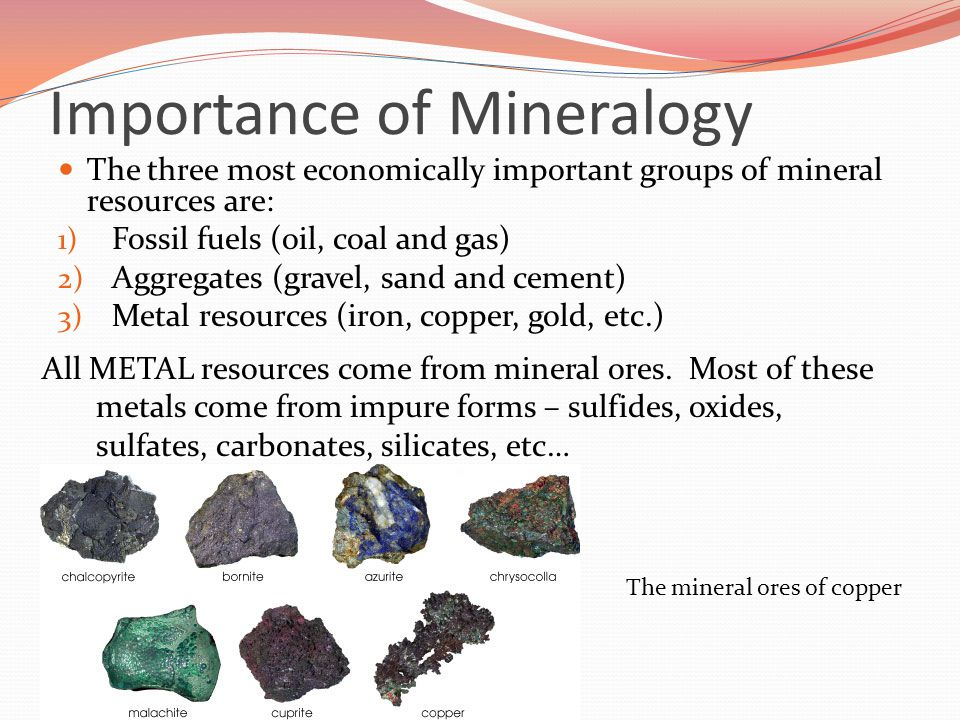 Introduction to Minerals - ppt video online download