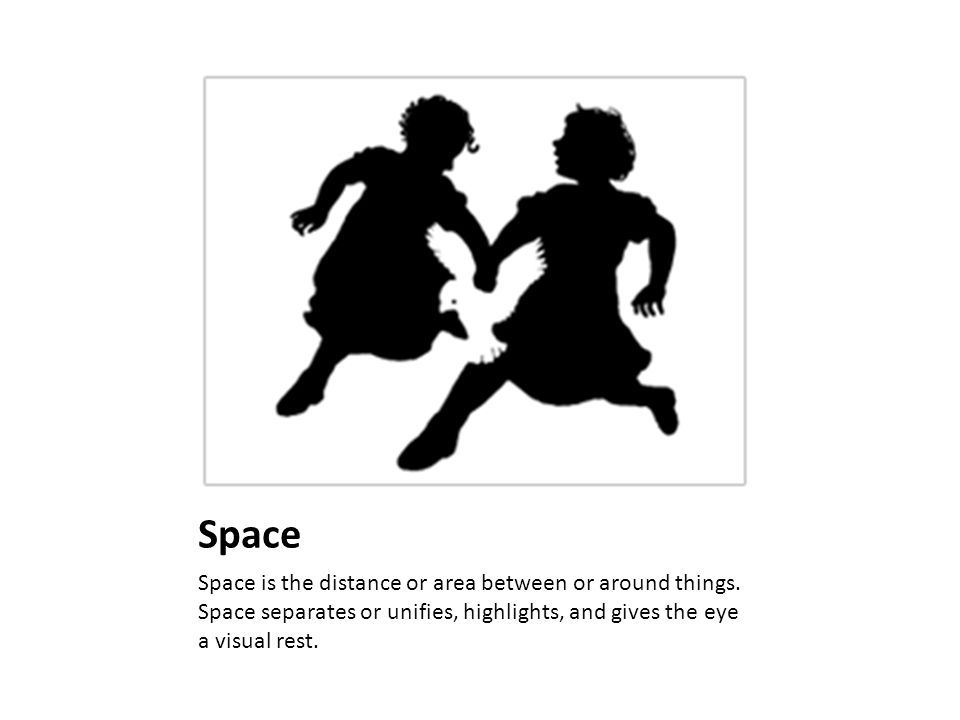 Space Space is the distance or area between or around things.
