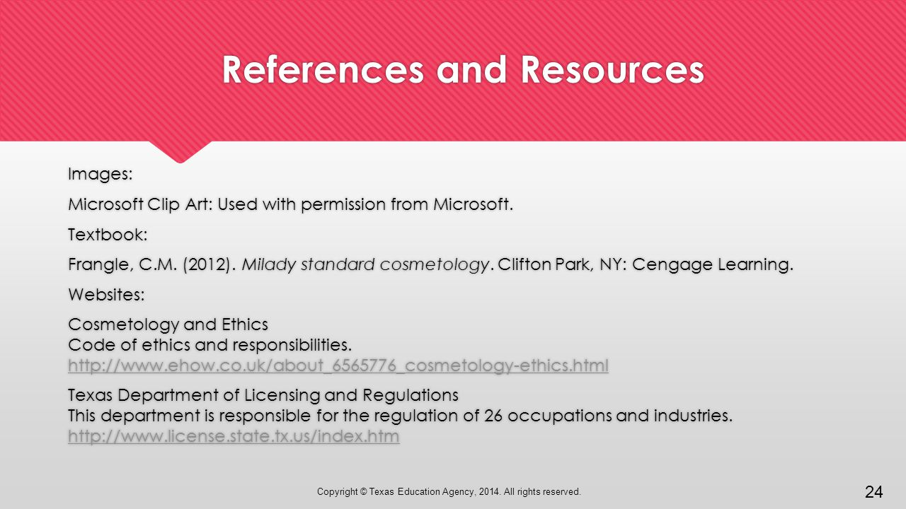 Ethics And The Work Environment Introduction To Cosmetology Ppt