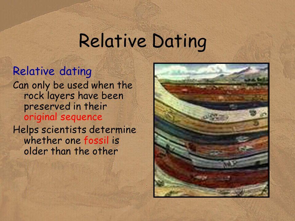 Relative vs radiometric dating
