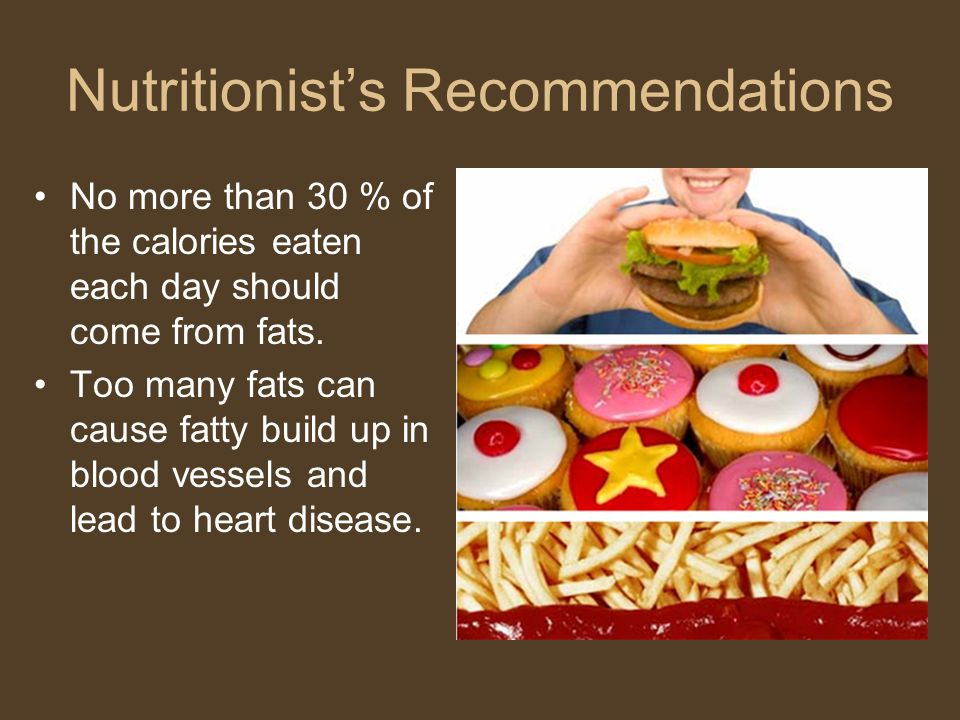 Nutritionist's Recommendations