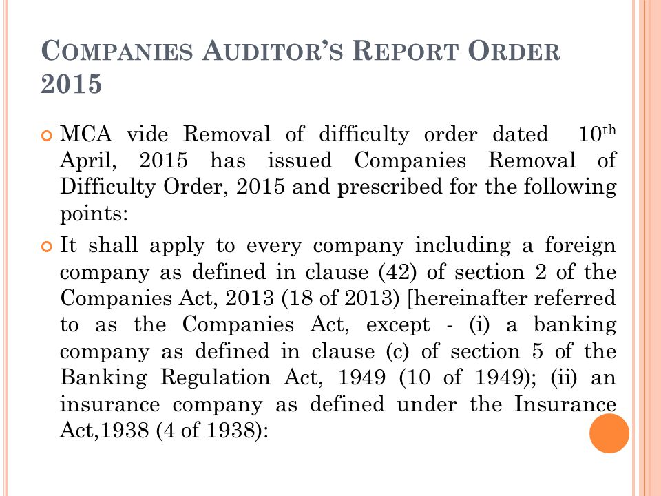 Recent Amendments In Companies Act Ppt Video Online Download