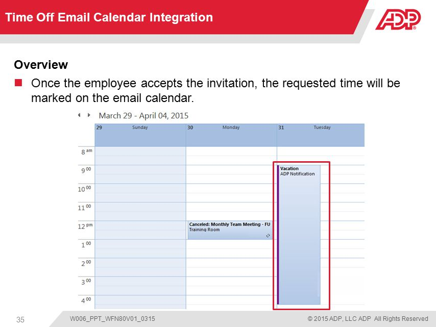 Time Off for ADP Workforce Now - ppt download