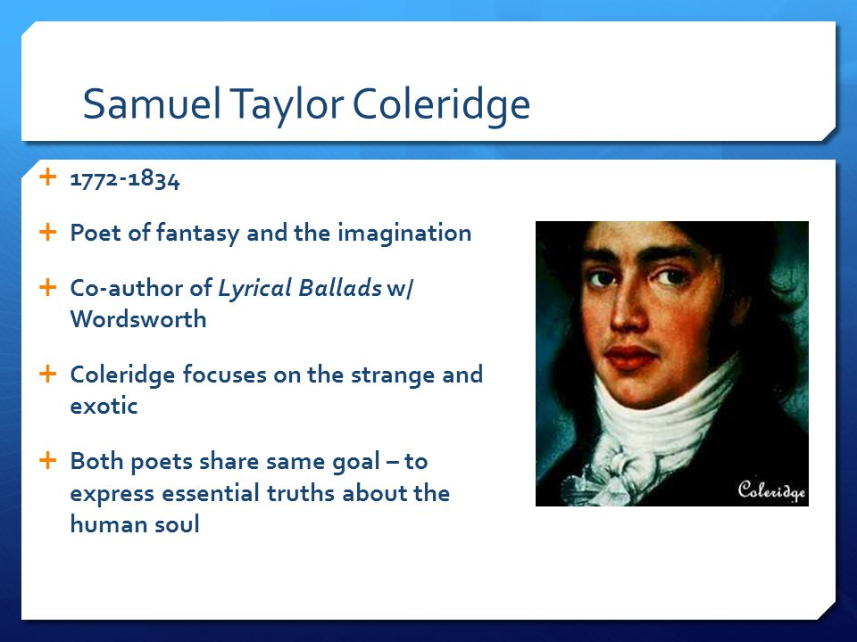 The Romantic Period ppt download