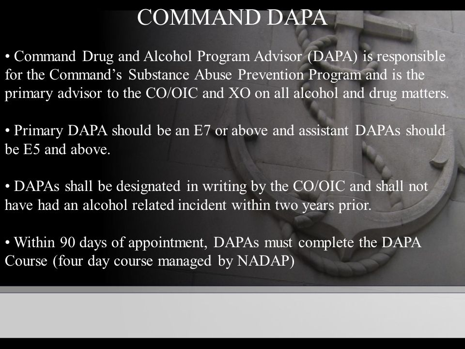 an overview of the alcohol and drug abuse prevention and control program adapcp University of utah drug and alcohol abuse prevention program the university of utah is dedicated to providing a safe and healthy environment for its students, faculty, and staff the illegal use of drugs and alcohol can adversely affect the educational environment.