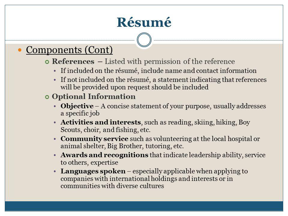 Resume Business Letter Memo