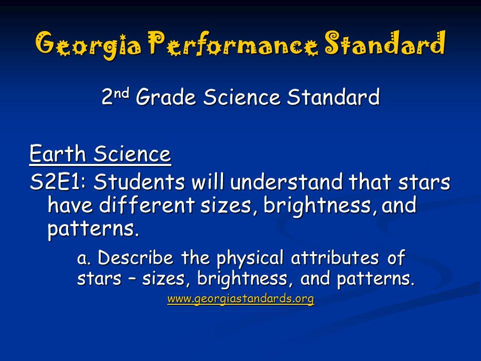 2nd grade science standards georgia