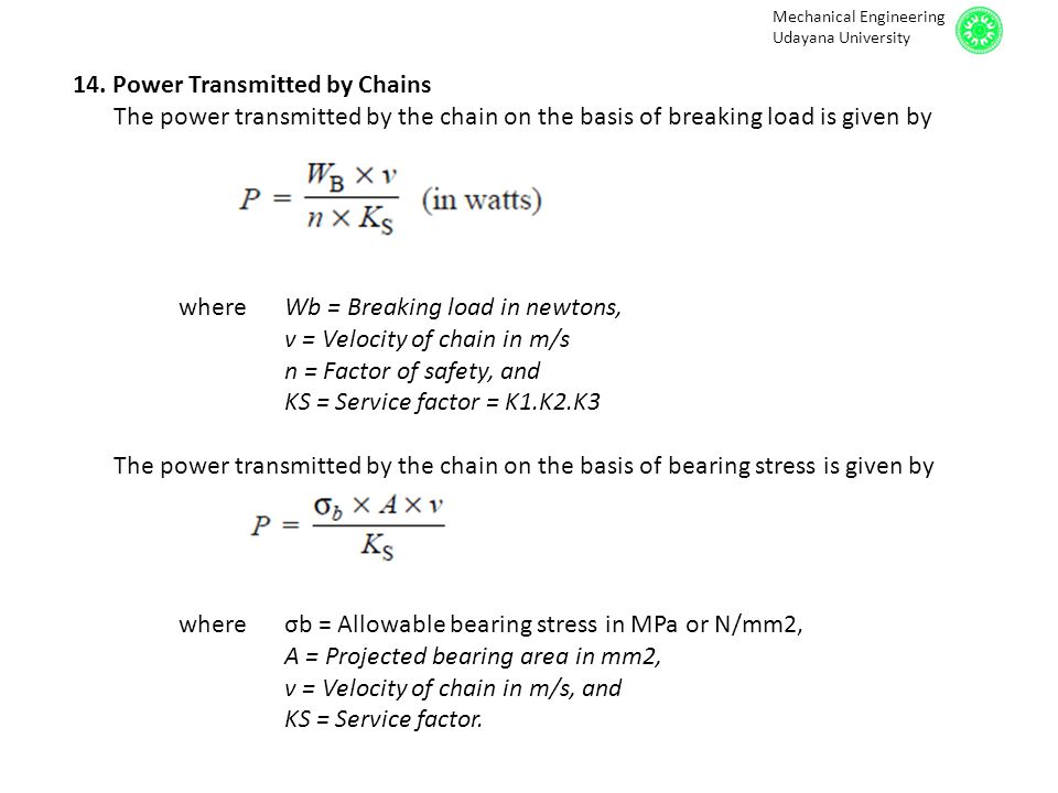 Chain Drives  - ppt video online download