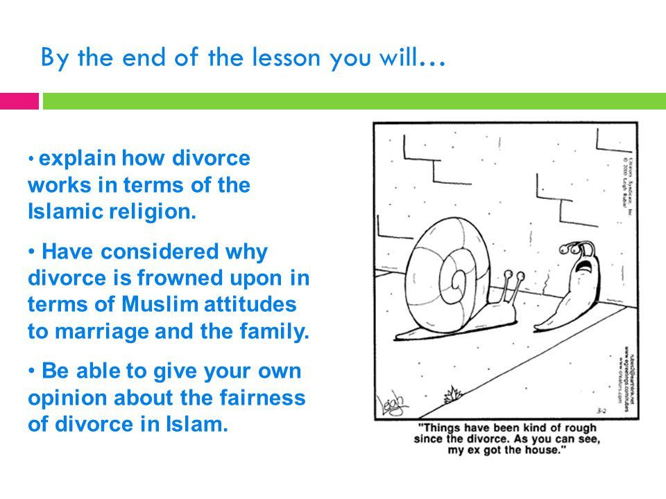 What does Islam teach about adultery and divorce? - ppt