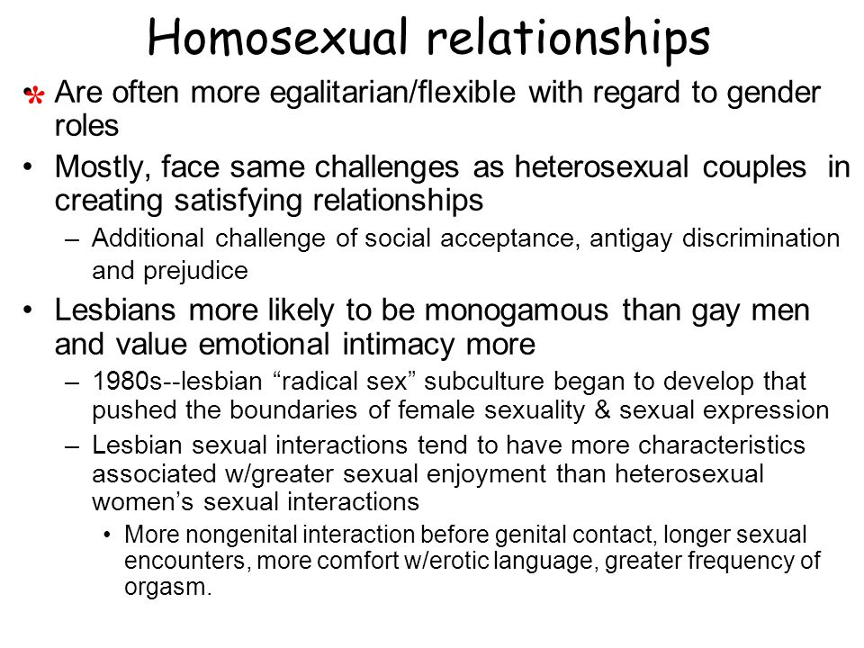 Heterosexual questionnaire sociology