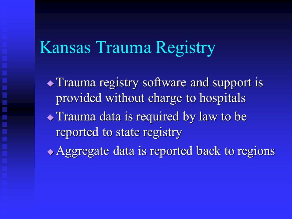 Kansas Trauma System Advisory Committee on Trauma - ppt download