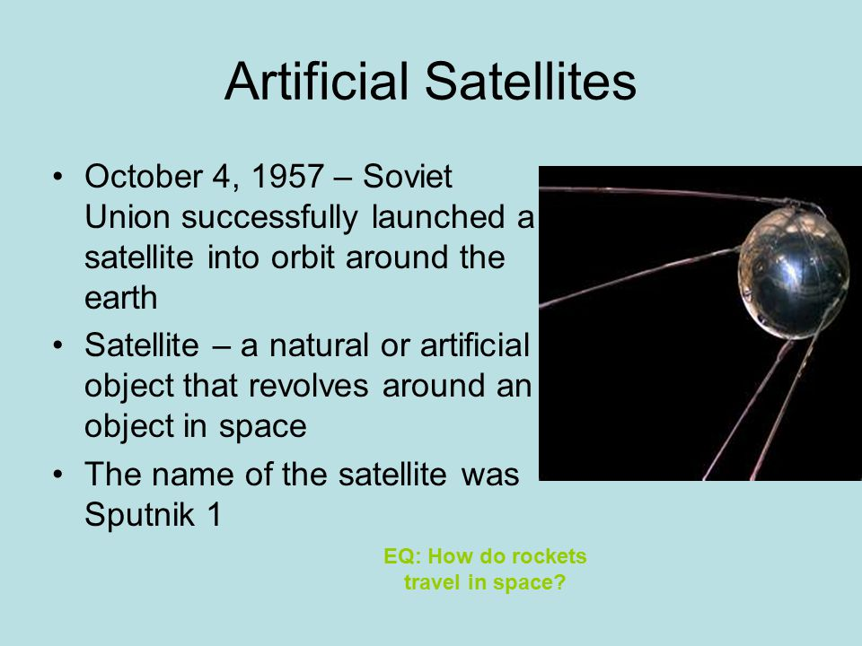 Rockets and Satellites - ppt video online download