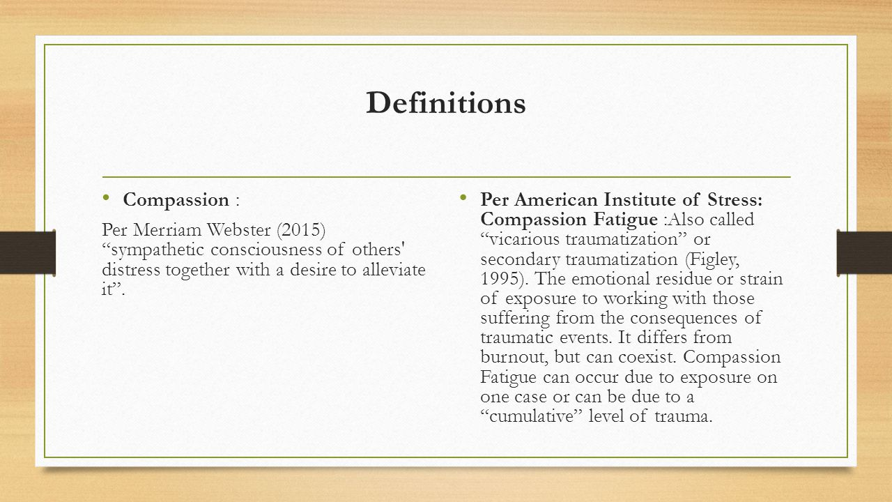 compassion fatigue how to avoid compassion fatigue and instead