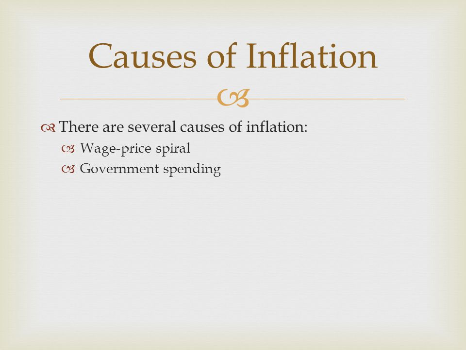 Inflation Ppt Video Online Download. Causes Of Inflation There Are Several. Worksheet. Inflation Worksheet Questions At Clickcart.co