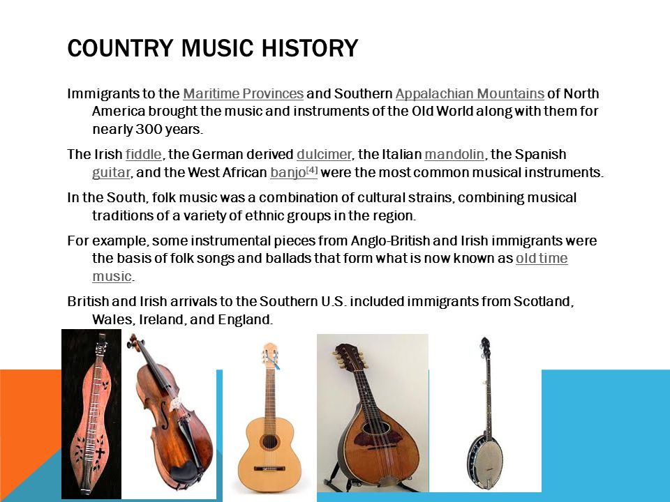 Country Music Ppt Video Online Download