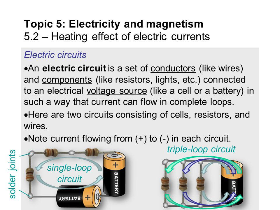 Topic 5: Electricity and magnetism 5 - ppt download