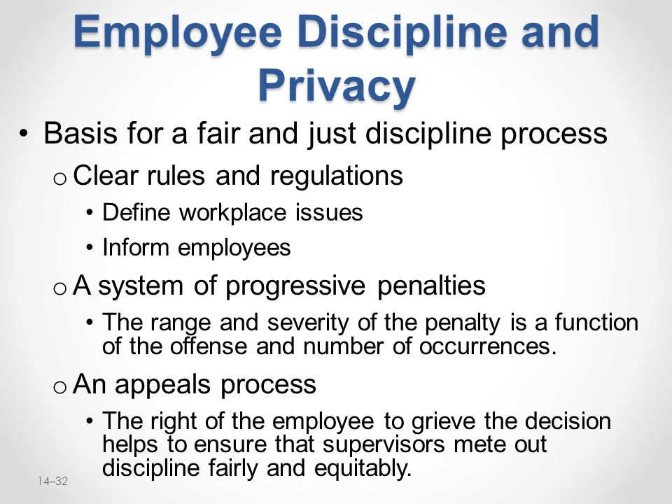 Discipline in the workplace ppt video online download.