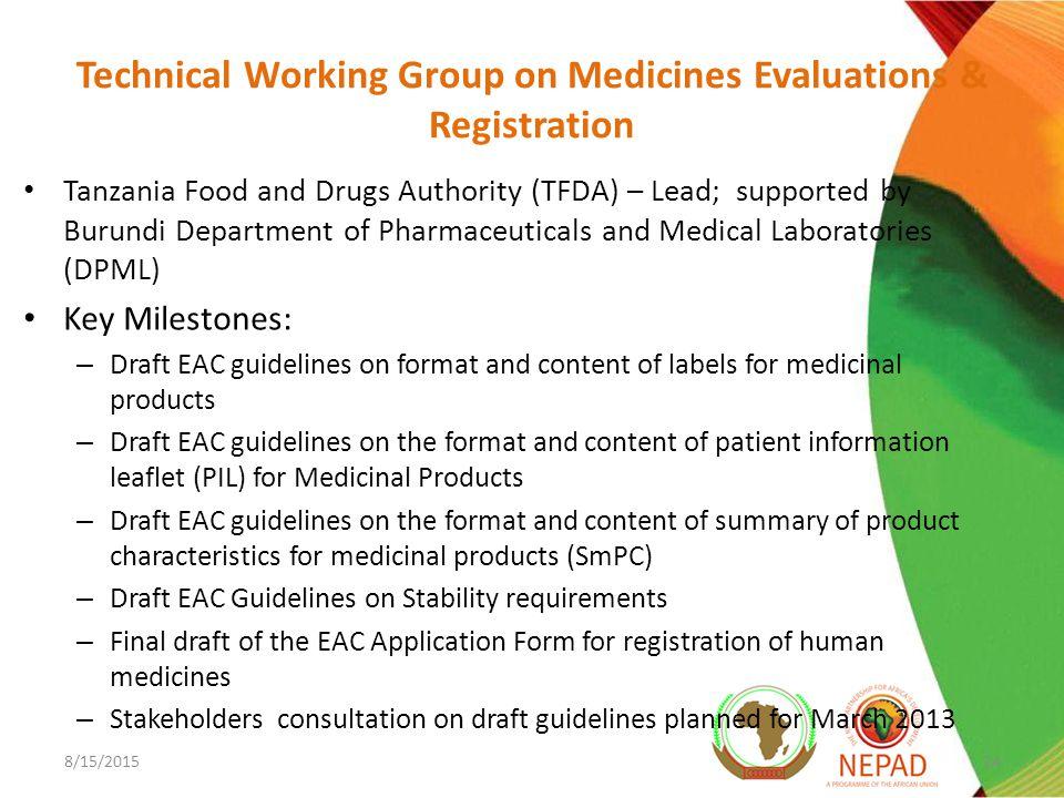 East African Community Medicines Registration Harmonization