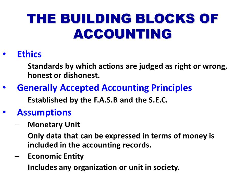 generally accepted accounting principles and economic Why do we need generally accepted accounting principles (gaap) this short video provides the answer for those who are new to the work of the faf, the fasb.