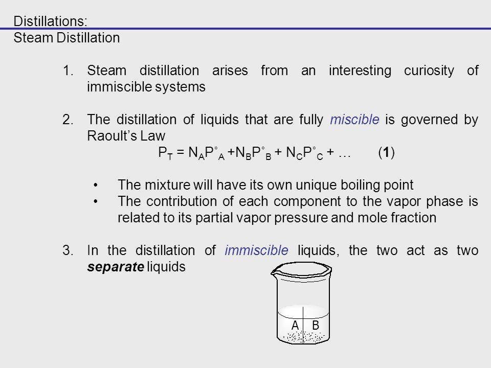 Steam Distillation Oil Of Cloves Ppt Video Online Download