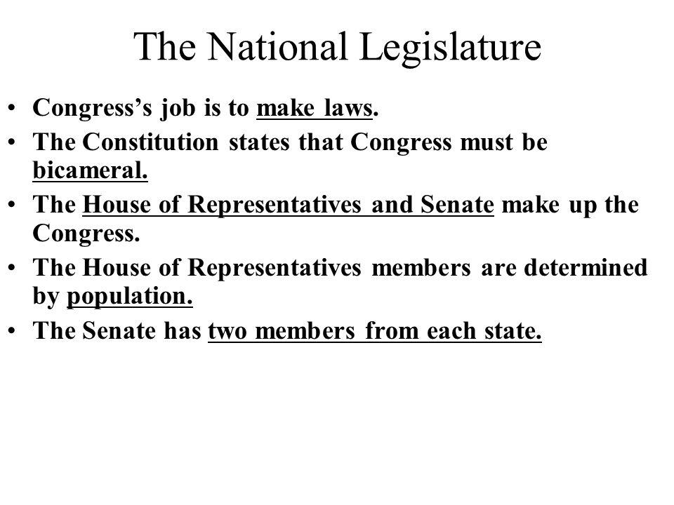 Congress HOUSE OF REPRESENTATIVES SENATE Ppt Download