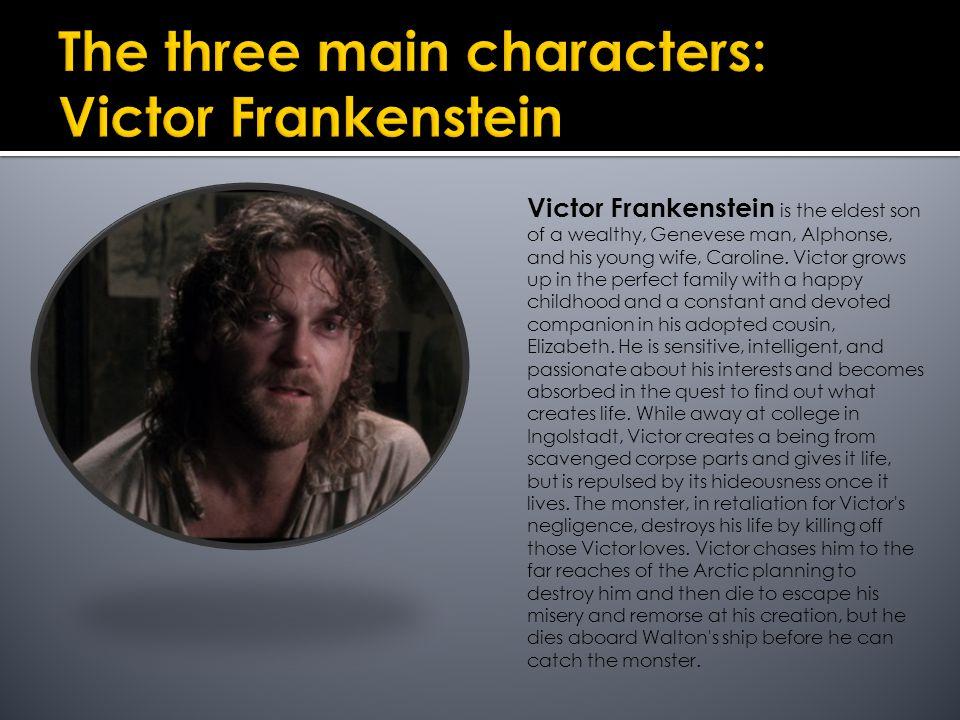 victor frankenstein summary
