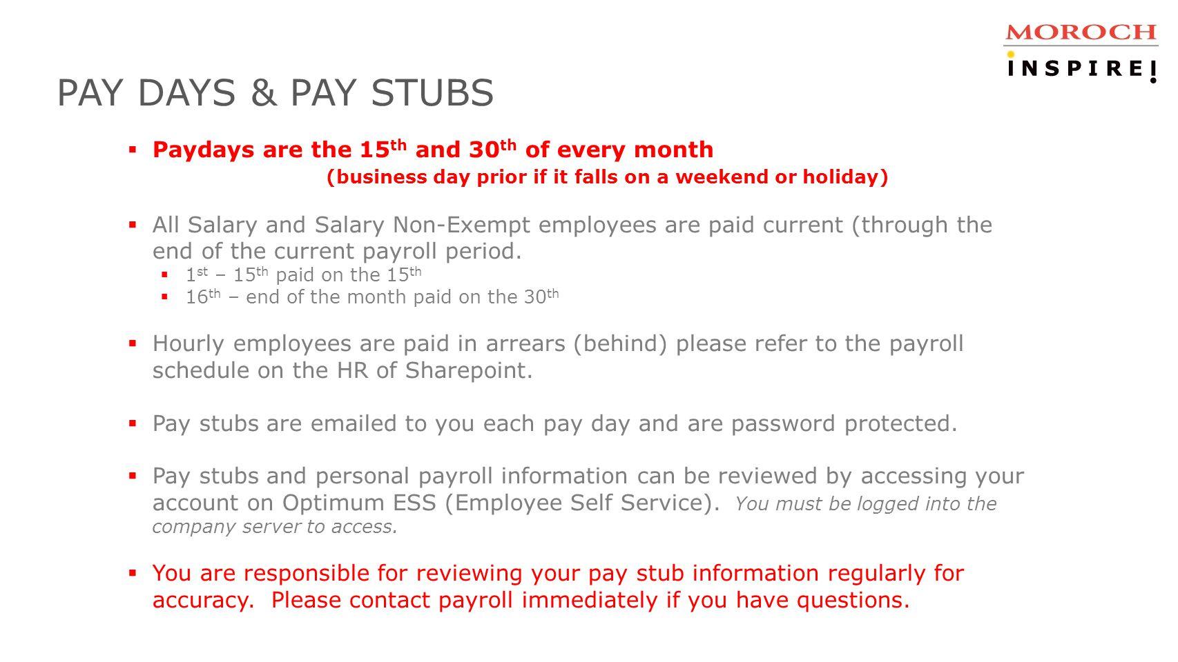 HR/Payroll/Benefits Presentation - ppt download