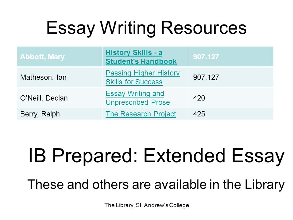 Critical Analysis Essay Example Paper Essay Writing Resources Argument Essay Paper Outline also What Is A Thesis For An Essay The Library St Andrews College  Ppt Download Sample Of An Essay Paper