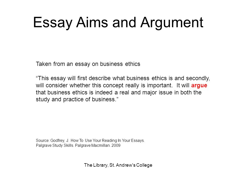 The Library St Andrews College  Ppt Download Essay Aims And Argument A Modest Proposal Essay also Example Of A Thesis Essay  English Literature Essay