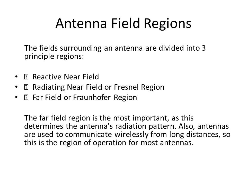 Basic Antenna Parameters