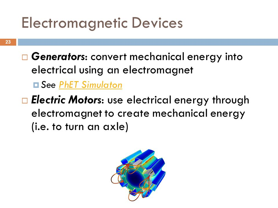 Electromagnetic Devices