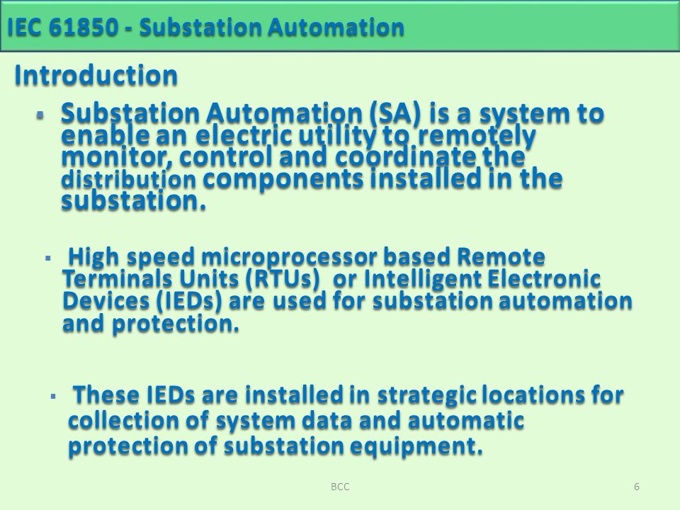 Substation Automation - ppt download