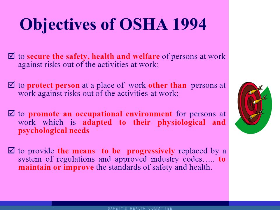 Topic 3 Occupational Safety And Health Management Ppt Video Online Download