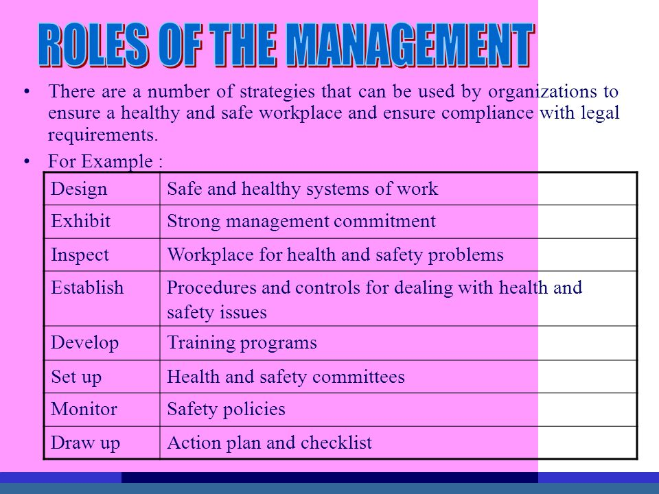TOPIC 3 : OCCUPATIONAL SAFETY AND HEALTH MANAGEMENT - ppt video